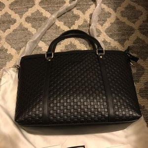 GUCCI Leather Bag Authentic from Gucci store Italy